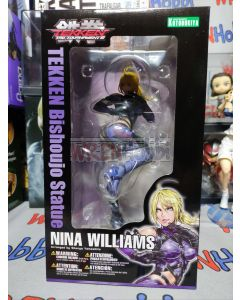 Kotobukiya Bishoujo Nina Williams Tekken (Unopened but box slightly damaged)