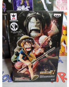 SCULTURES BIG 4 LUFFY VOL. 1 (see box pic)