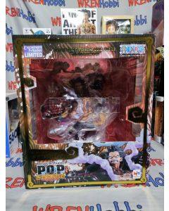 P.O.P. Gear 4 Luffy Limited Edition (MISB) With slight box dent at edge/corner (see pictures)